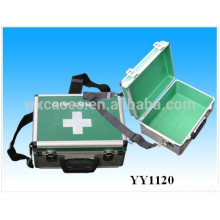 high quality aluminum medical carrying cases with shoulder strap