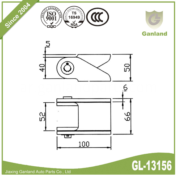 Steel Heavy Duty Door Hinge GL-13156-1