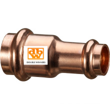 Copper Press Reduced Coupler, From 22 X 15mm to 54 X 42mm