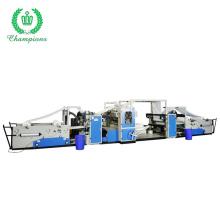 Best Selling Glue Lamination Kitchen Towel Facial Tissue Folding Machine