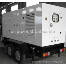 OEM top quality shangchai brand trailer diesel generator with leadtech alternator