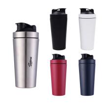 Frete Grátis Aço Inoxidável Shaker Proteína Garrafa De Proteína De Soro de Leite para Fitness Gym Garrafa