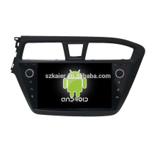 ¡Ocho nucleos! DVD de coche Android 8.0 para Hyundai I20 con pantalla capacitiva de 9 pulgadas / GPS / Enlace espejo / DVR / TPMS / OBD2 / WIFI / 4G