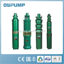 Serie QJ bombas de pozo sumergibles bomba de agua de pozo profundo