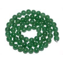 Bolas redondas de aventurina verde de 12 mm