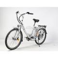 48 V bateria portátil escondida 350 W sem escova EN15194 bicicleta elétrica bicicleta da cidade com pedais