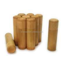 Eco-friendly bamboo tea caddy coffee canister for hotel,cafe