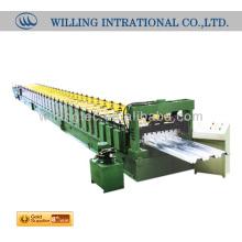 Heißer Verkauf und gute Qualität JCX 51-240-720 Fußbodenplattform-Rollenformungsmaschine