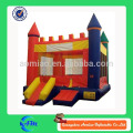 Colorido inflável castelo crianças bouncy castelo