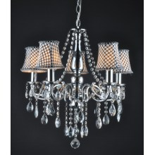 Modern New Design Lampshade Crystal Chandelier (9227-5)