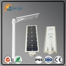 Melhor preço 20W integrado levou luz de rua solar