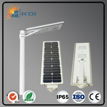 CE 20W LED luz de calle solar integrada