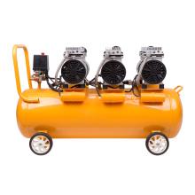 Compresor de aire de pistón portátil de accionamiento directo DingQi 850W * 3