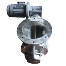 carbon steel 400mm square discharger Rotary airlock valve