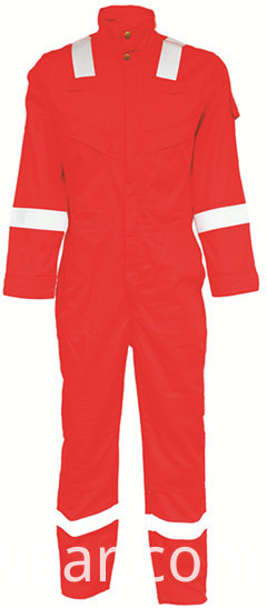 fr coverall red