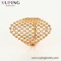 15314 xuping mujeres elegantes anillo de dedo de forma personalizada magnética en 18k galjanoplastia joyería de importación de china