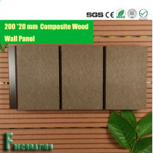 Долго прочный композитный настилов продуктов WPC панели пластиковые древесины стены