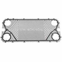 Placa de GEA VT20 para intercambiador de calor, intercambiador de calor de placa y el empaque, ss 304, 316l, titanio