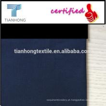 100% tecido de fio de algodão tingido / fio tingido tela única cor