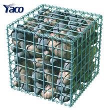 1 * 1 * 1 m 1 * 1 * 0.5 m soudé type galvanisé gabion pierre cage pour mur de bricolage