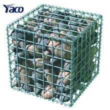 1*1*1m 1*1*0.5m welded type galvanized gabion stone cage for DIY garden wall