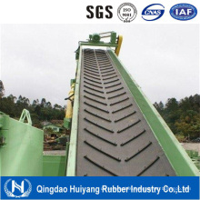 Rma/DIN/as Standard Chevron Pattern Rubber Conveyor Belt