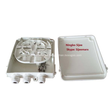 Caja de distribución de divisor de fibra óptica para exteriores de 8 puertos