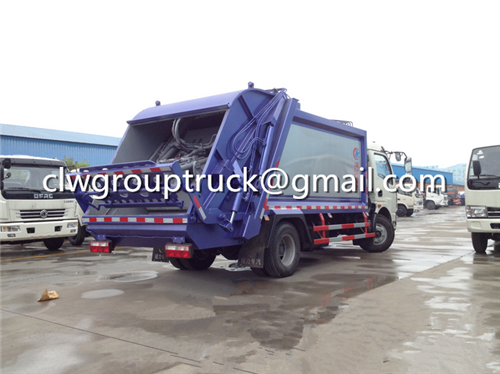 Garbage Compactor Truck_4
