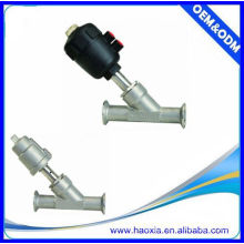JZF Series stainless steel DN20 angle seat valve with plastic head