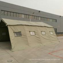 Tente en tissu en PVC pour les militaires