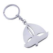 Металлический брелок нового стиля Новаторский брелок для ключей с парусной лодкой