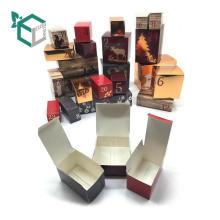 изготовленный на заказ серебряный материал лицевая маска косметическая коробка подарка упаковывая