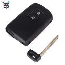 Factory OEM black remote key shell for Toyota key shell 2 button
