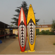 Colorful Inflatable Race Paddleboard Water Surf SUP Paddle Boards