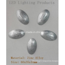 LED Lighting Parts-Oval Bottom Cover