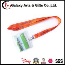 Titular de cartão ID escola PVC com logotipo personalizado de artigos de papelaria de linga