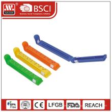 Clip de seal, hermétique clip, clip pp, clip de nourriture, Haixing attache pour sac en plastique, clip en plastique coloré