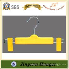 2015 New Fashion Yellow Plastic Baby Pants Hanger