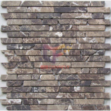 Dark Emperador Marble Mosaic Tiles (CFS941)