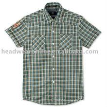 Мужские рубашки с тегом