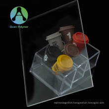 Ocan excellent resistance PMMA clear plastic acrylic sheet