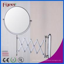 Fyeer pliant ronde salle de bain maquillage décoratif miroir mural (M0318)