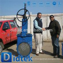 Valve de la porte à couteaux WCT de l'ammoniaine Didtek