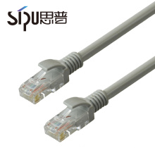 SIPU hot selling wholesale 6/0.12 CCAM conductor utp cat5e patch cable