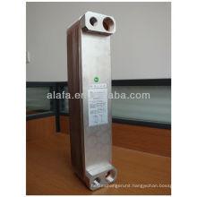 copper brazed plate heat exchanger,evaporator alfa laval