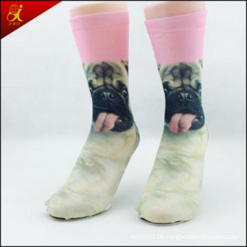 Hot-Selling benutzerdefinierte Drucken Socken