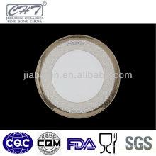 A011 porcelain wholesale unique fine bone china dinner plates