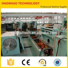 Famoso marca de alta qualidade HR CR SS GI bobina de aço Slitting Line