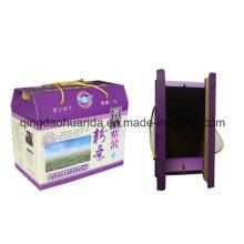 Caja de cartón corrugado / caja de regalo express / E-Flute Color Carton
