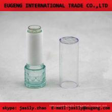 fashion round transparent lip balm case